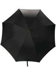 Alexander Mcqueen Skull Handle Umbrella Black