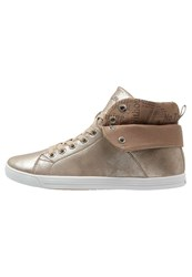 S.Oliver Hightop Trainers Rose Metallic Rose Gold