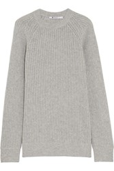 Alexander Wang Wool And Cashmere Blend Sweater Gray