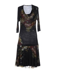 Bolongaro Trevor Knee Length Dresses Dark Blue