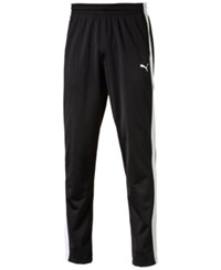 Puma Men's Contrast Sweatpants Black White