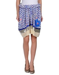 Tsumori Chisato Knee Length Skirts Blue
