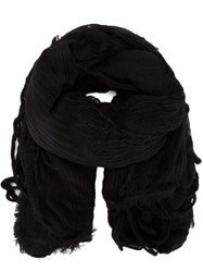 Forme D'expression Textured Fringed Scarf 60