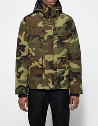 Canada Goose Maitland Parka In Camouflage