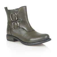 Lotus Jodie Ankle Boots Green