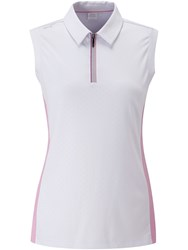 Ping Harmony Sleeveless Polo White