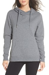 Zella Favorite Hoodie Grey Dark Heather