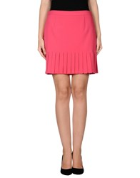 Moschino Cheap And Chic Moschino Cheapandchic Skirts Mini Skirts Women Fuchsia
