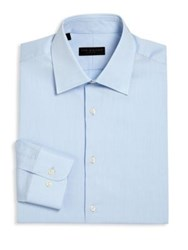 Ike Behar Regular Fit Textured Dress Shirt