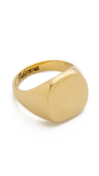 Lulu Frost Signet Ring Gold