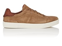 Ermenegildo Zegna Bny Sole Series Vulcanizzato Burnished Suede Sneakers Lt.Brown