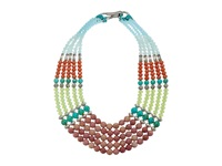 Gypsy Soule Gsdn15412 Green Orange Blue Red Necklace Multi
