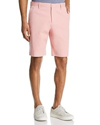 Bloomingdale's The Men's Store At Twill Regular Fit Shorts 100 Exclusive Pink