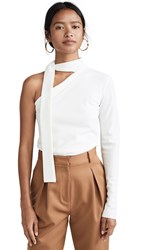Bec And Bridge Electric Hearts Tie Shirt Ivory