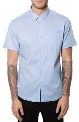 7 Diamonds Men's 'Light House' Trim Fit Short Sleeve Dobby Print Woven Shirt