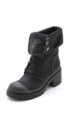 Marc By Marc Jacobs Army Boots Black Black