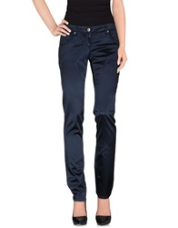Exte Casual Pants Dark Blue