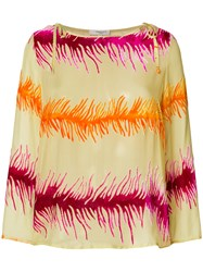 Charlott Graphic Print Blouse Multicolour