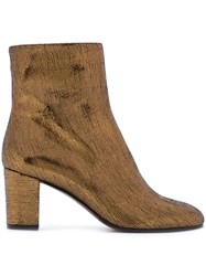 L'autre Chose Heeled Boots Leather 36.5 Brown