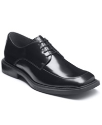 Kenneth Cole Silver Merge Oxford Dress Shoes Men's Shoes Black