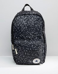 Converse Logo Backpack With Star Print Multicolour