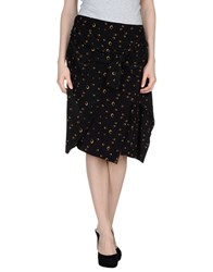 Boy By Band Of Outsiders 3 4 Length Skirts Black