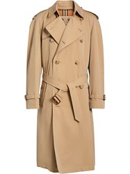 Burberry The Westminster Heritage Trench Coat Nude And Neutrals
