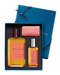 Atelier Cologne Pomelo Paradis Cologne Absolue 200 Ml With Personalized Travel Spray 30 Ml Emerald