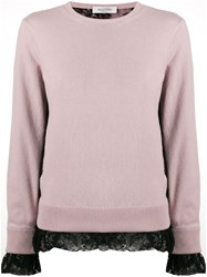 Valentino Lace Trimmed Jumper 60