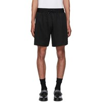 Givenchy Black Jacquard Shorts 001 Black