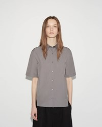 Jil Sander Barbara Short Sleeve Shirt Medium Grey