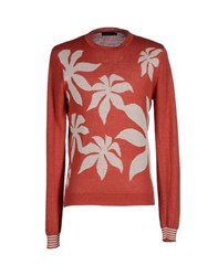Antony Morato Knitwear Jumpers Men Brick Red