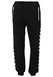 Hummel Aage Tracksuit Bottoms Black