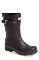 Hunter Men's 'Original Short' Rain Boot Black