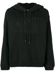 7 For All Mankind Logo Hoodie Black