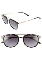 Carrera Women's Eyewear 51Mm Retro Sunglasses Shy Black Gold