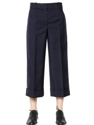 Thom Browne Cropped Light Weight Wool Pants