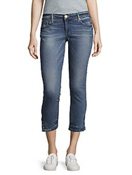 True Religion Casey Skinny Fit Cropped Jeans Gypsey