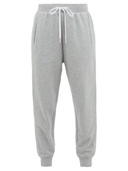 The Upside One Love Cotton Jersey Track Pants Grey