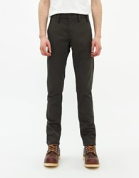 Rogue Territory Officer Trouser In Ash Twill Size 28 100 Cotton