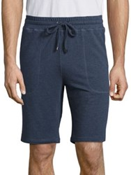 Saks Fifth Avenue French Terry Shorts Indigo