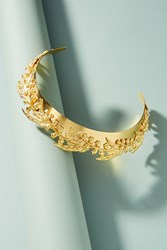 Anthropologie Lily Of The Valley Crown Gold