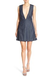 Cheap Monday Women's 'Code' Denim Fit And Flare Dress