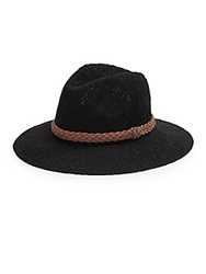 San Diego Hat Co. Knit Fedora Black