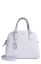 Kate Spade New York Cameron Street Lottie Leather Satchel Purple Morning Dawn