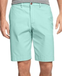 Tommy Hilfiger Men's Classic Fit Chino Shorts Blue Surf