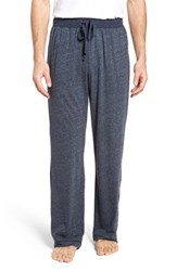 Daniel Buchler Recycled Cotton Blend Lounge Pants Navy Heather