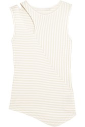Kain Label Dudley Striped Cotton Tank Brown