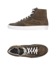 Roberto Pepe High Tops And Trainers Dove Grey