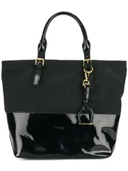 Ralph Lauren Dual Panel Tote Bag Black